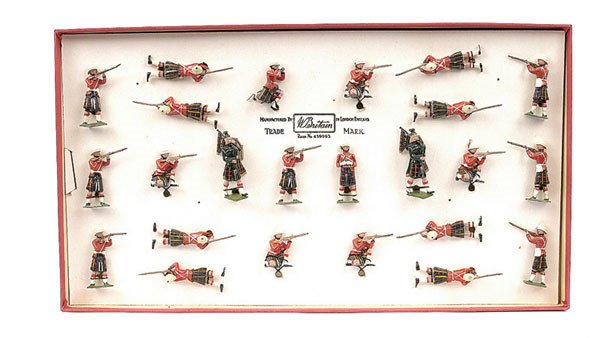 3020: Britains - Set 89 - Cameron Highlanders