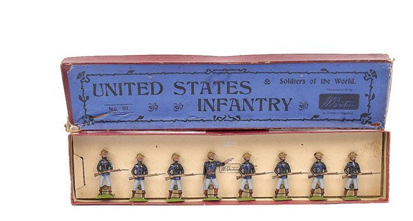 3022: Britains set 91-United States Inf [1906 version]