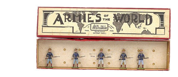 3023: Britains set 91-United States Inf [1906 version]
