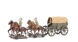 3245 ElastolinLineol etcGerman InfJag Supply Wagon