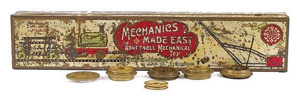 """4003: Meccano """"Mechanics Made Easy"""" Tin"""
