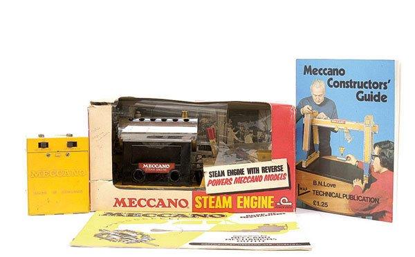 4012: Meccano Steam Engine