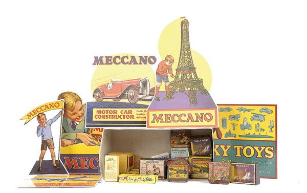 4014: Meccano Boxes from early Meccano Sets