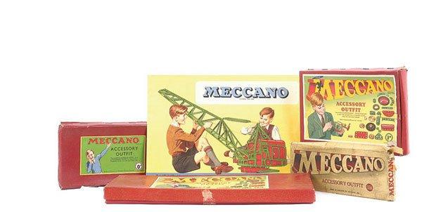 4023: Meccano 1950s Accessory Outfits