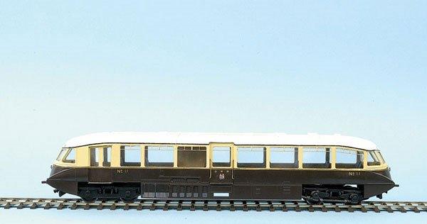 "4552: Finescale GW Diesel Railcar ""Flying Banana"""