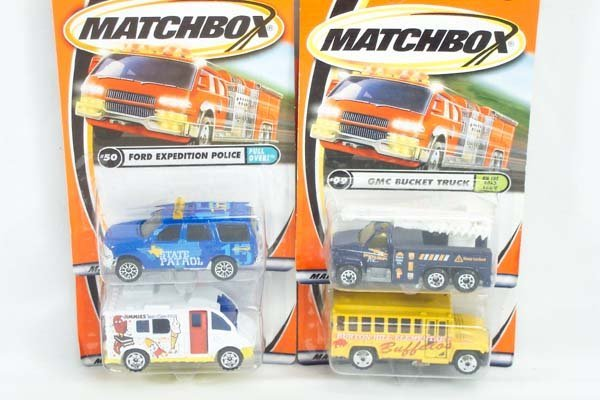 1: Matchbox Superfast Carded Models