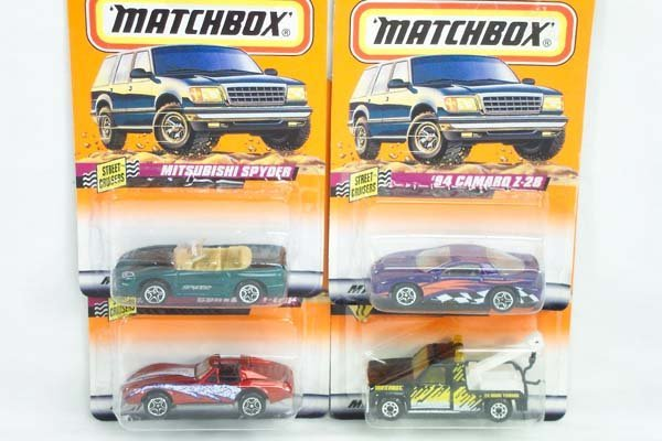 3: Set of 1-75 Matchbox Superfast Carded Models