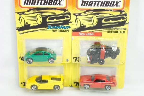 4: Matchbox Superfast - Set of 1998 Carded Models