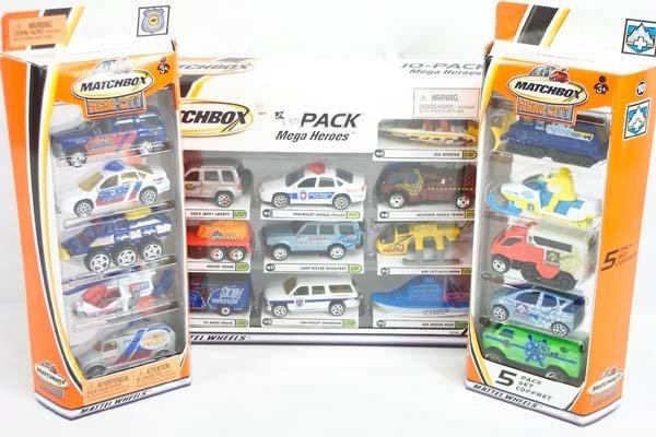5: Matchbox Superfast 2001 5 Packs