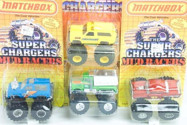 10: Matchbox Superfast 18 x Superchargers