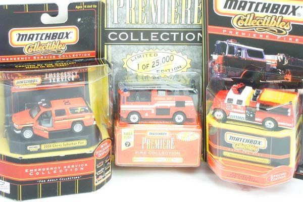 15: Matchbox Superfast Premiere Collection Issues