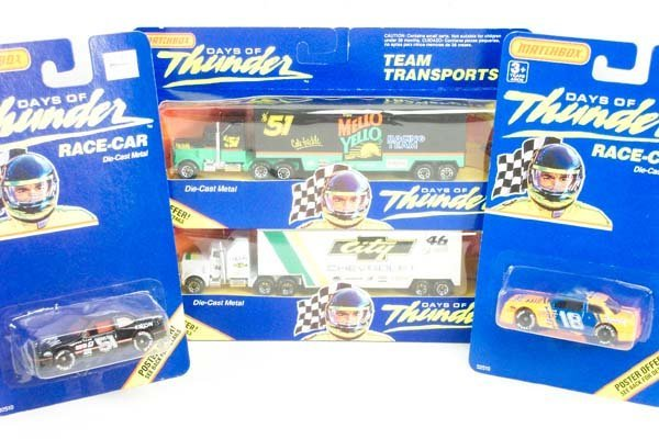 19: 22 x Matchbox Days of Thunder Issues