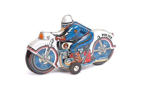 1003: Japanese Made Police Motorcycle