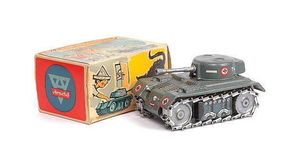 1004: Arnold (West Germany) Clockwork Tank