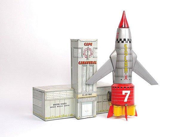 1013: TN Toys (Japan) Solar X7 Rocket Plane