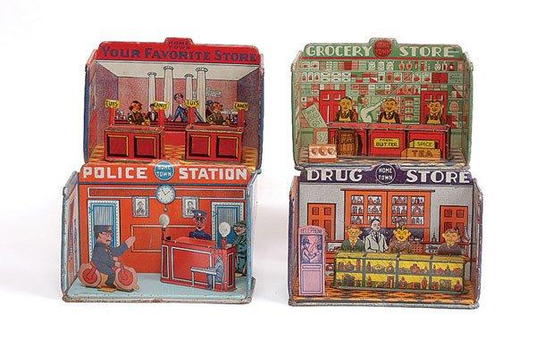1022: Home Town Series Tinplate Shops