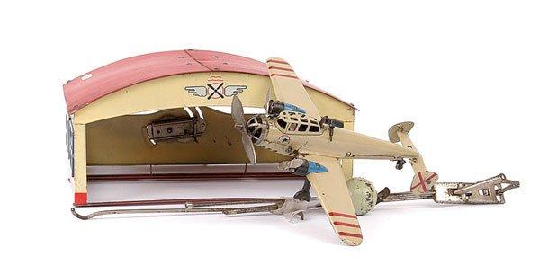1545: Paya Pre-war Tinplate Hangar