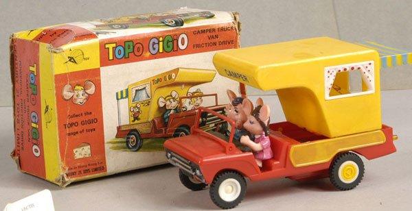 "2002: Century 21 Toys ""Topo Gigio"" Camping Truck"