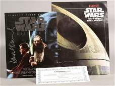 2005: Star Wars - Pair of Signed Items