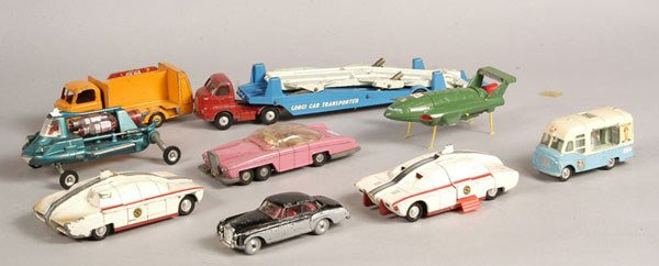 2014: Dinky, Corgi, Budgie - A Mixed Group of Unboxed