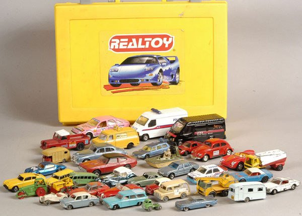 2016: A Group of Unboxed Diecast Cars & Commercials