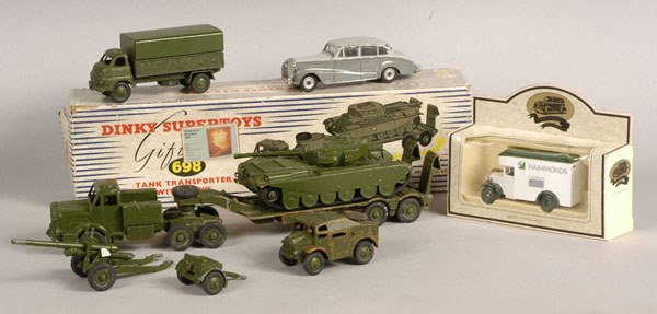 2017: Dinky Toys - A Mixed Group of Boxed and Unboxed