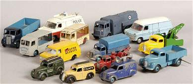2070: Dinky Toys - A Group of Unboxed Commercials