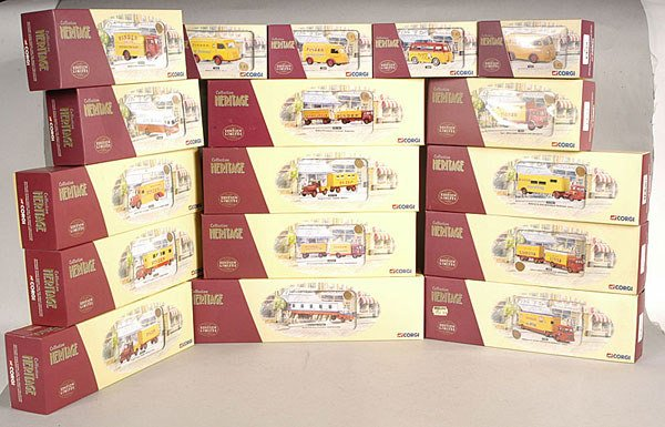 2398: Corgi Classics Pinder Circus Vehicles
