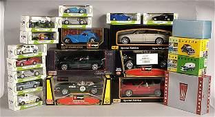 2606: Bburago, Maisto, Corgi - A Mixed Group of Cars