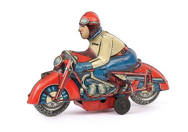 3001: Huki Tinplate Motorcyclist