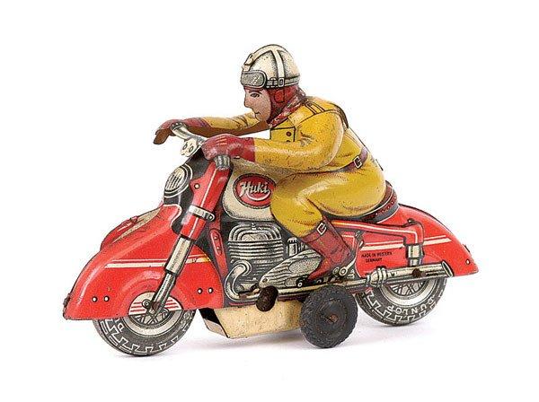 3006: Huki Tinplate Motorcyclist