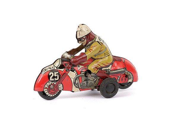 3009: Huki/HKN Tinplate Racing Rider