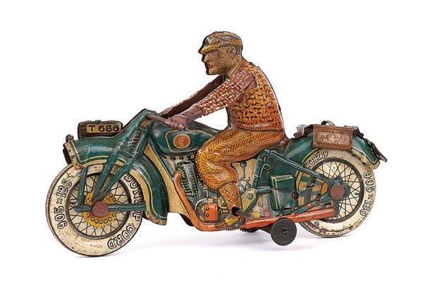 3011: Tipp & Co Pre-war Tinplate Touring Rider