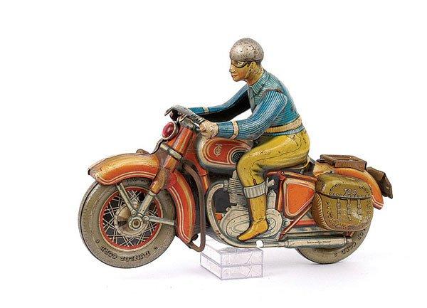 3014: Tipp & Co Ref.598F Tinplate Touring Rider
