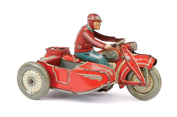 3015: Tipp & Co Ref.587 Touring Rider & Sidecar