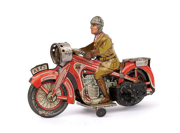 3017: Arnold Ref.643 Tinplate Touring Cyclist