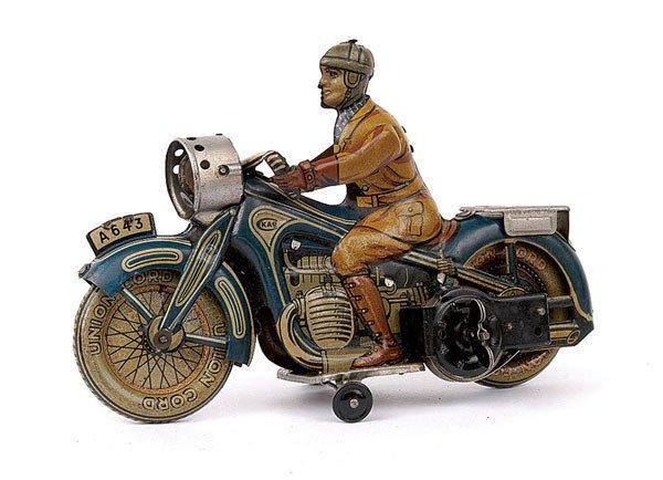 3018: Arnold Pre-war Ref.643 Tinplate Touring Cyclist