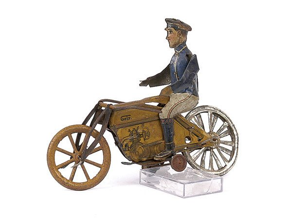 3039: Gely (Germany) Early Bike with Rider