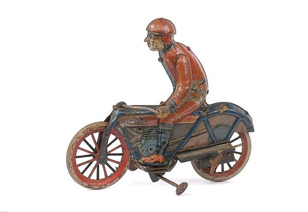 3040: Unknown German Make Early Tinplate Bike