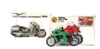 3416 Polistil  3 x 115th scale Motorbikes