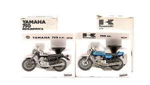 3418 Polistil  5 x 124th scale Motorbikes