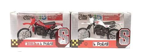 3425 Polistil  5 x 115th scale Motorbikes