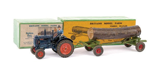 4009: Britains No.128F Fordson Major Tractor