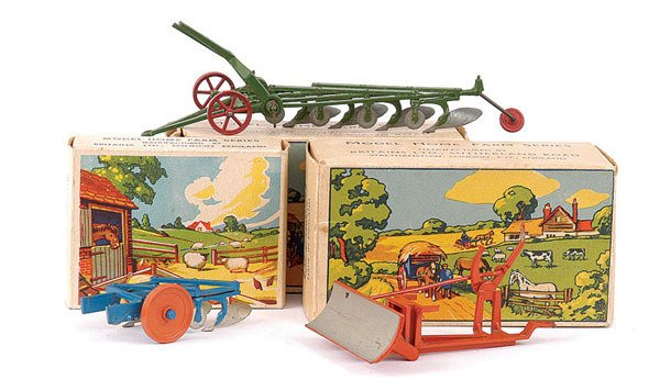 4015: Britains - A Group of 3 Farm Implements