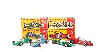 4396: Dinky - A Group of Racing Cars