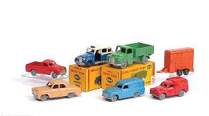 4697: Dublo Dinky Toys - Group of Cars and Commercials
