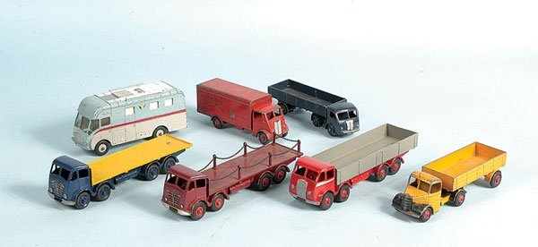 2: Dinky Toys - A Group of Unboxed Commercials