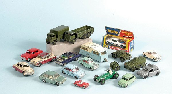 3: Dinky Toys - A Mixed Group of Unboxed