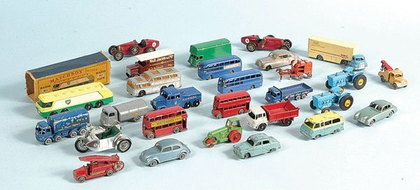 4: A Group of Matchbox Regular Wheel and MOY