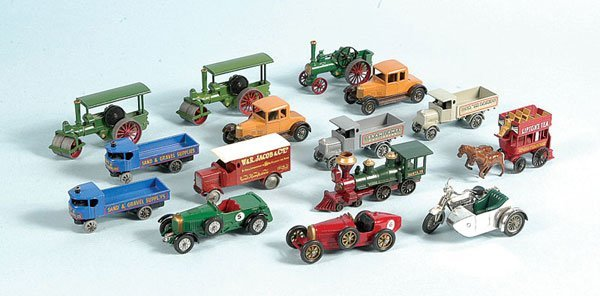 5: A Group of Matchbox Models of Yesteryear